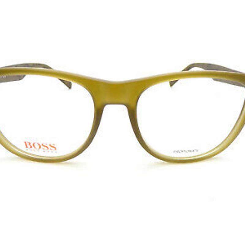 Kính cận HUGO BOSS ORANGE Reading Glasses +0.25 to +3.50 Olive Green/ Graphic BO 0218 EZE
