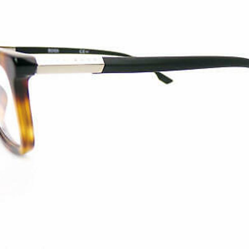 Kính cận HUGO BOSS womens +0.25 to +3.5 Reading Glasses 53mm Havana Brown/ Black 0981 086