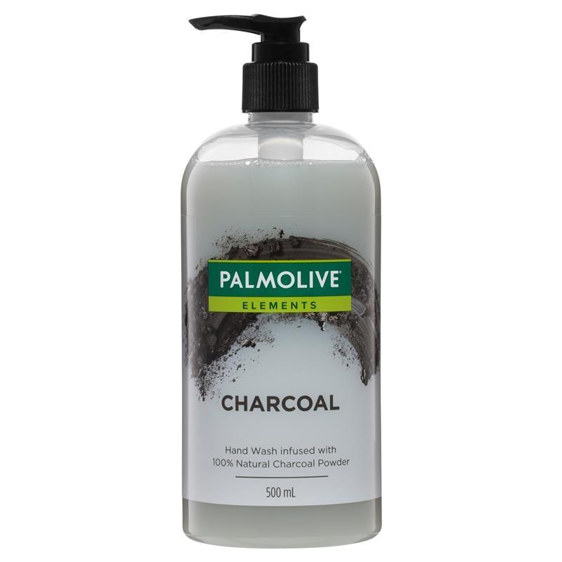 Nước rửa tay Than tự nhiên Palmolive Elements Hand Wash Natural Charcoal 500mL