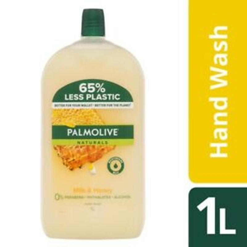 Nước rửa tay Palmolive Naturals Milk & Honey Hand Wash Refill 1L