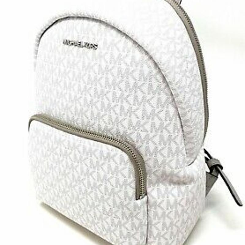 Michael Kors Erin Medium Convertible Backpack Crossbody MK Signature