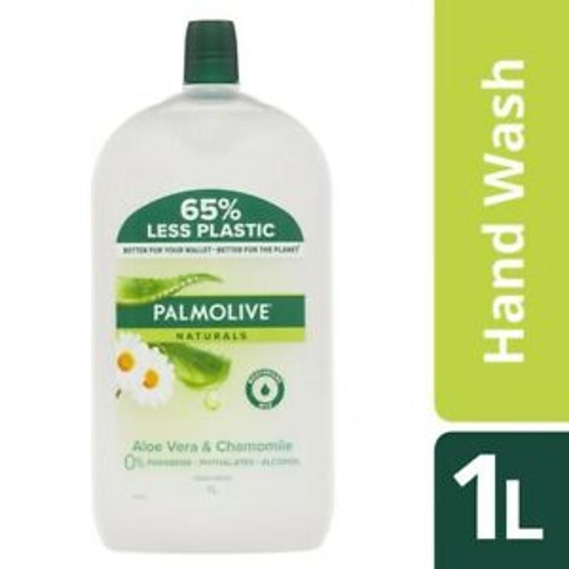 Nước rửa tay Palmolive Naturals Aloe & Chamomile Hand Wash Refill 1L