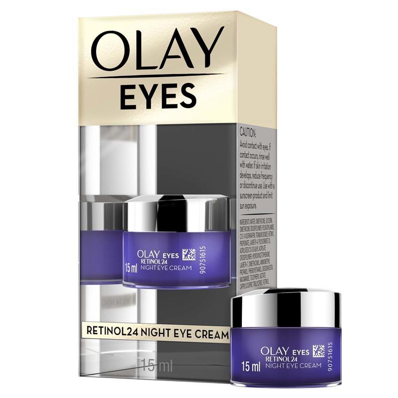 Kem mắt chống lão hóa Olay Eyes Retinol 24 Night Eye Cream 15ml