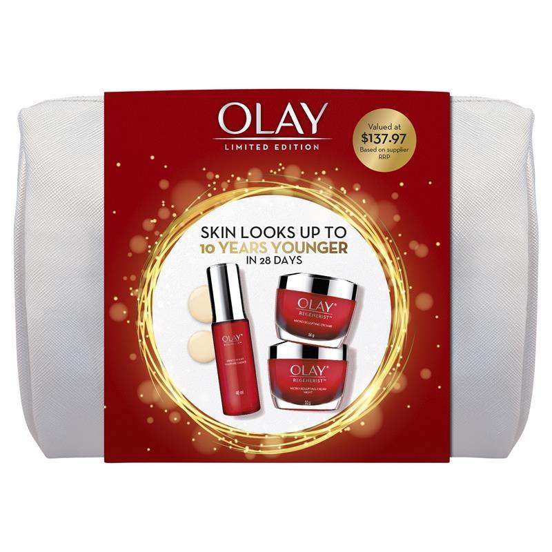Bộ quà tặng Olay Regenerist Overnight Miracle Cosmetic Bag Gift Set