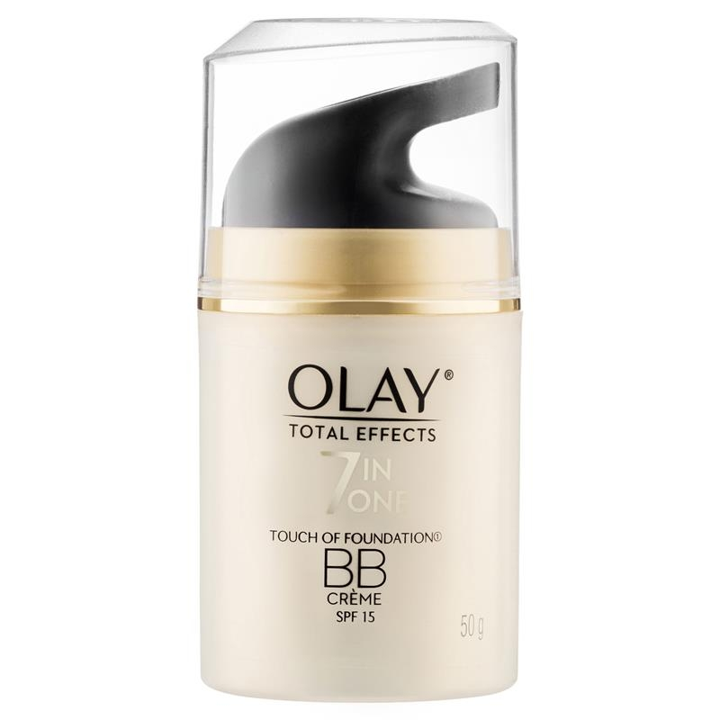 Kem nền Olay Total Effects 7 in One Touch of Foundation Face Cream BB Crème SPF 15 50g