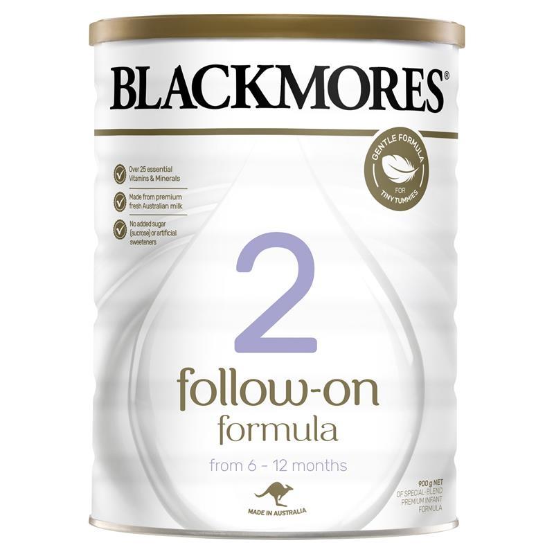 Sữa cho trẻ từ 6 -12 tháng Blackmores Follow On Formula 900g