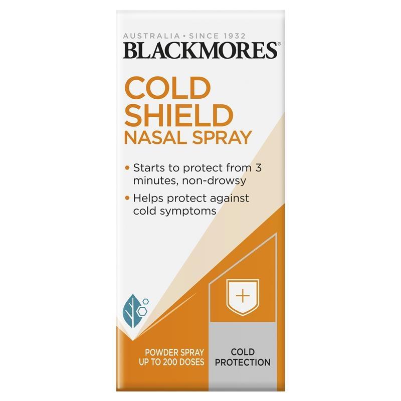 Xịt mũi chống cảm cúm - Blackmores Cold Shield Nasal Spray 800mg