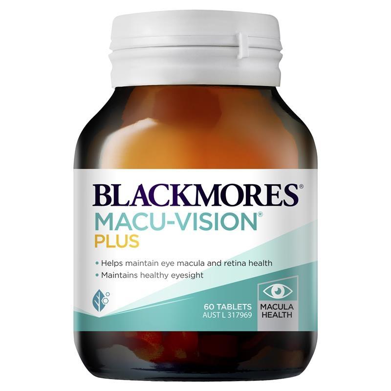 Viên bổ mắt Blackmores Macu Vision Plus 60 Tablets