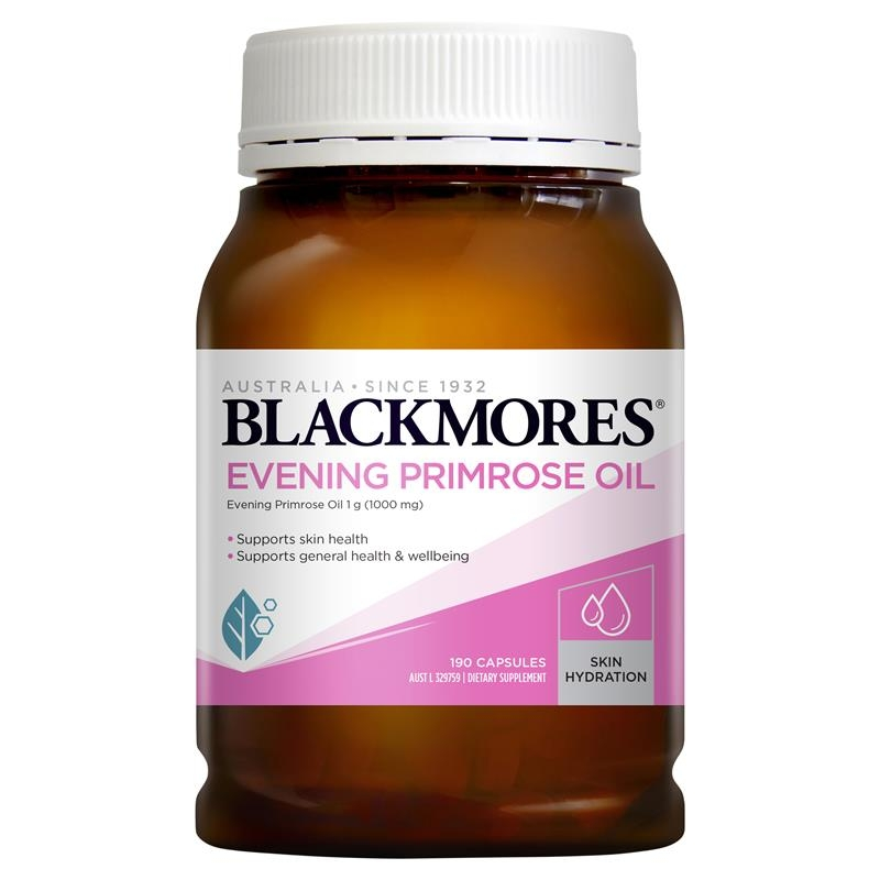 Tinh dầu hoa anh thảo - Blackmores Evening Primrose Oil 190 Capsules