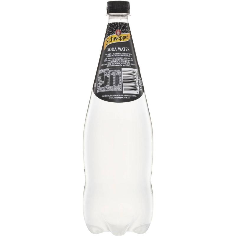 Nước có ga Schweppes 1.1l