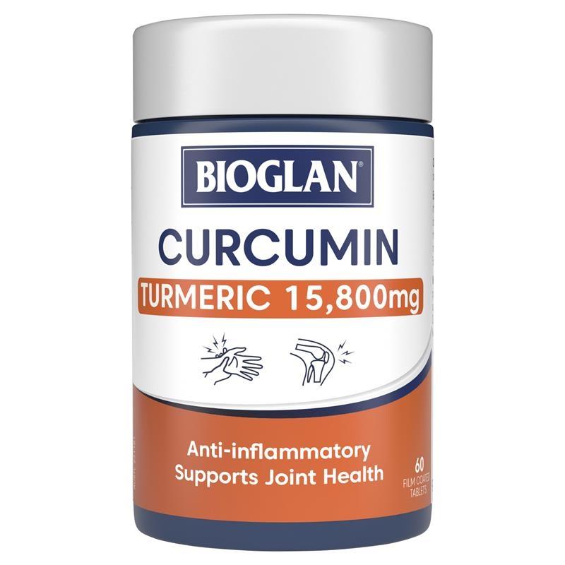Viên uống xương khớp - Bioglan Clinical Curcumin 60 Tablets