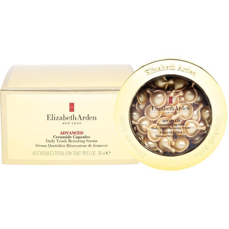 Viên nang tinh chất dưỡng sáng da Elizabeth Arden Advanced Ceramide Daily Youth Restoring Serum 60 Capsules