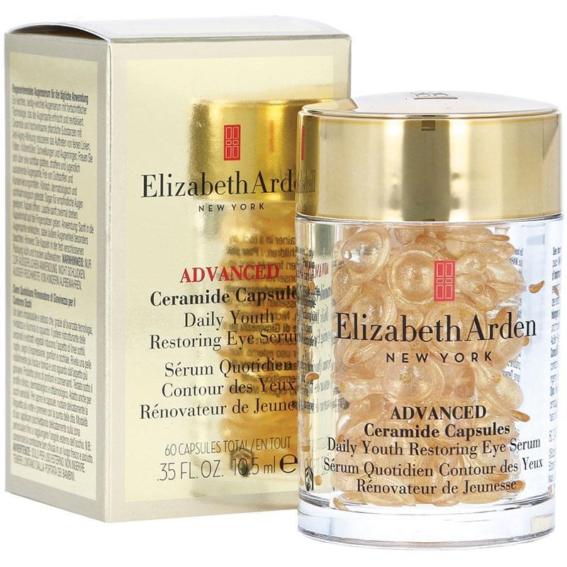 Tinh chất dưỡng da mắt dạng serum Elizabeth Arden Ceramide Capsules Daily Youth Restoring Eye Serum 60 Capsules
