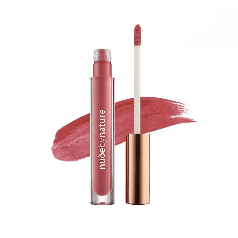 Son bóng Nude by Nature Moisture Infusion Lipgloss 09 Crimson Pink Online Only