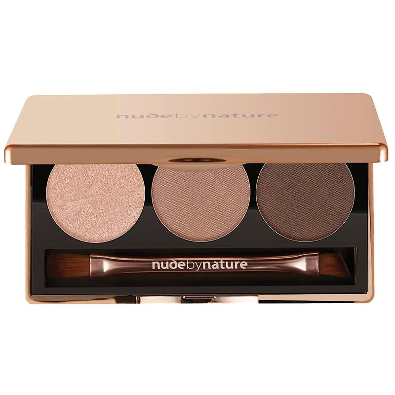 Phấn mắt Nude by Nature Natural Illusion Eyeshadow Trio 01 Nude