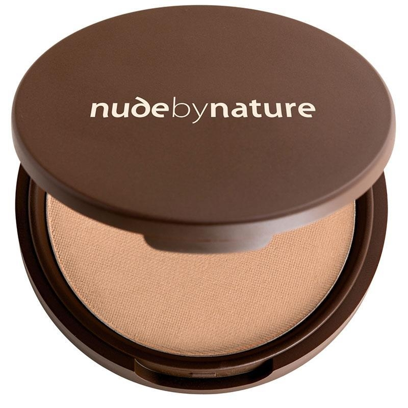 Phấn phủ dạng nén Nude by Nature Pressed Mineral Cover Light 10g