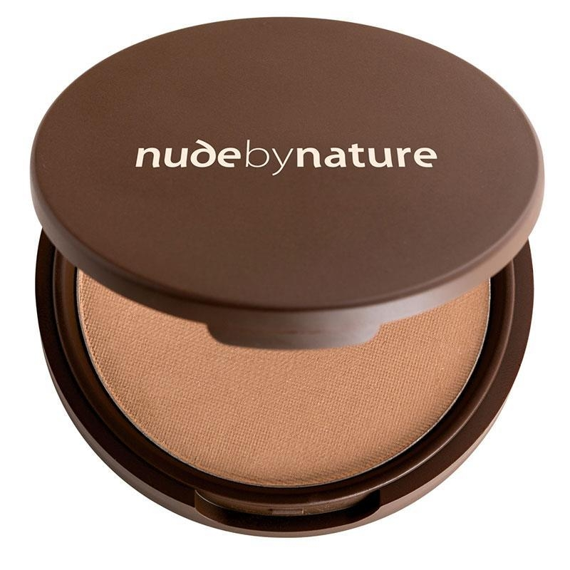 Phấn phủ dạng nén Nude by Nature Pressed Mineral Cover Light/Medium 10g