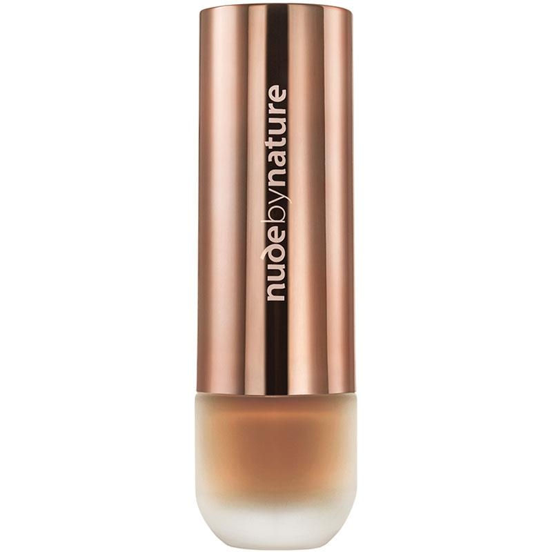 Kem nền Nude by Nature Flawless Foundation W10 Cinnamon Online Only