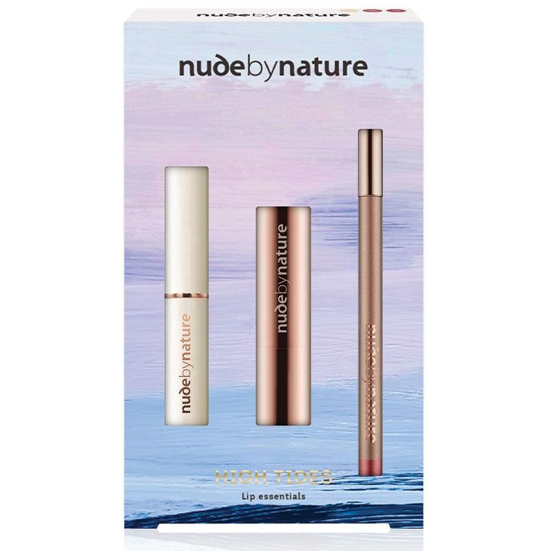 Set son môi Nude by Nature Xmas 2020 High Tides 06 Dusky Nude CWH Exclusive