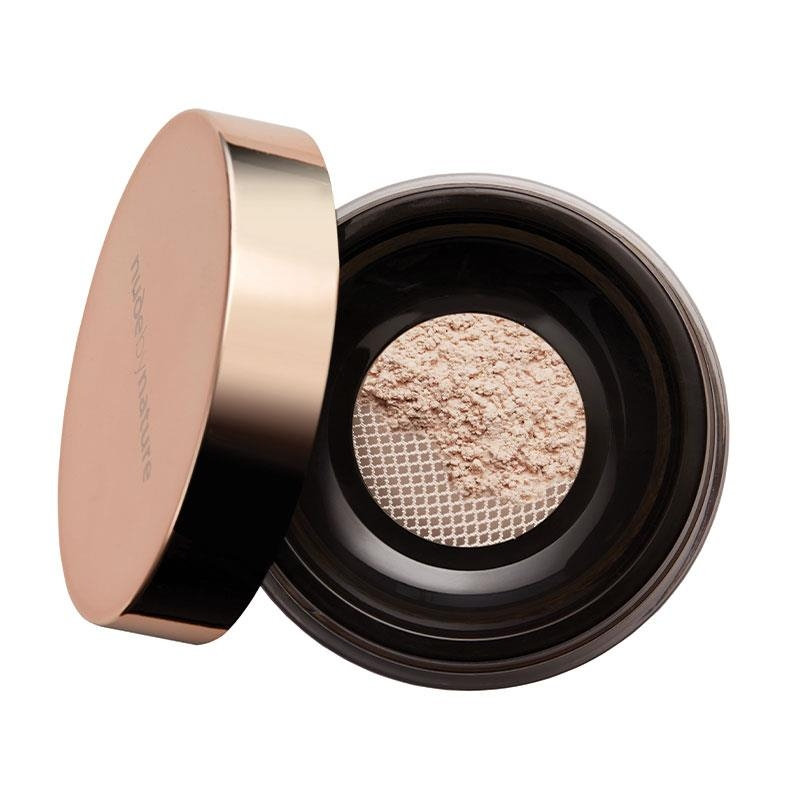 Phấn phủ Nude by Nature Translucent Loose Finishing Powder Natural 10g