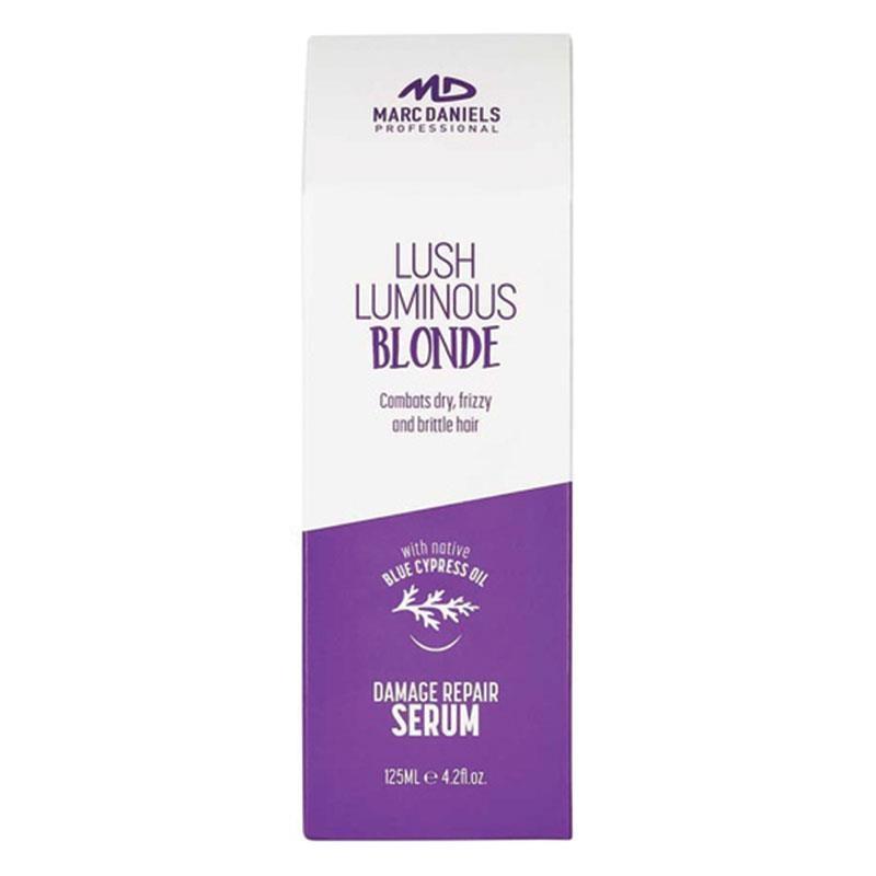 Serum phục hồi tóc hư tổn Marc Daniels Lush Luminous Blonde Damage Repair Serum 125ml