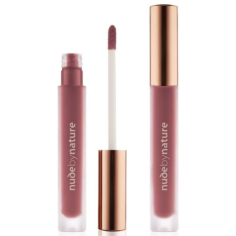 Son bóng Nude by Nature Satin Liquid Lipstick 09 Rich Plum