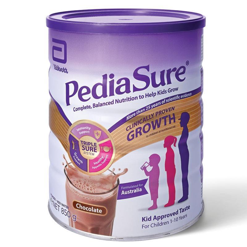 Sữa bột Pediasure Chocolate 850g