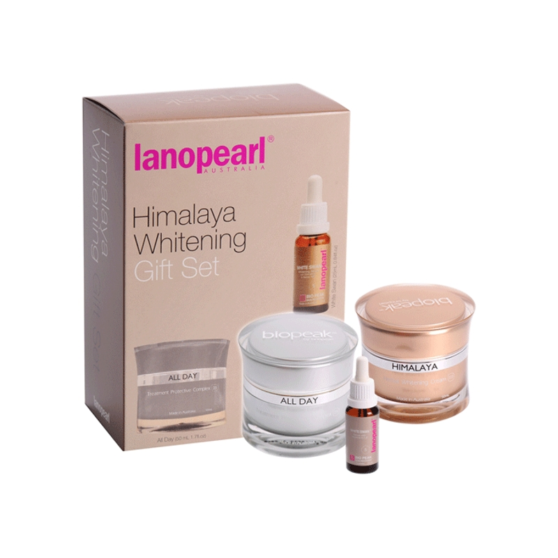 Bộ sản phẩm dưỡng da Lanopearl Himalaya Whitening Gift Set