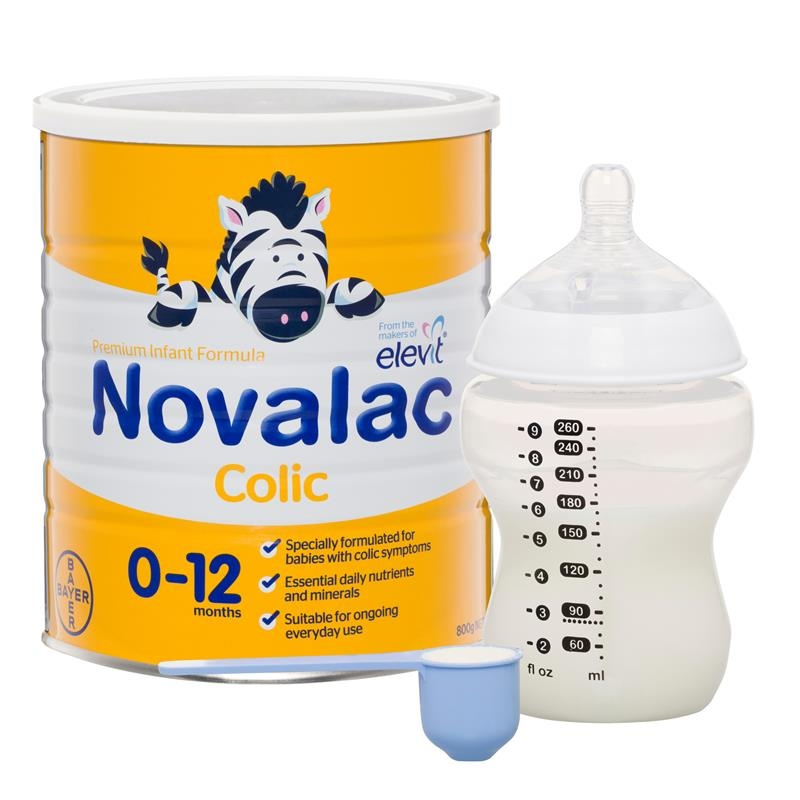 Sữa bột cho bé từ 0 -12 tháng Novalac AC Colic Infant Formula 800g