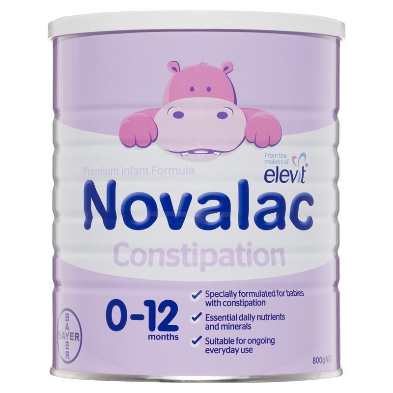Sữa bột cho bé từ 0 -12 tháng Novalac IT Constipation Infant Formula 800g