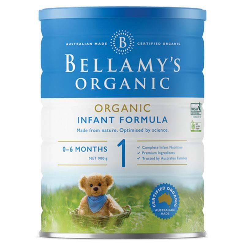 Sữa bột cho trẻ sơ sinh Bellamy's Organic Infant Formula Step 1 900g