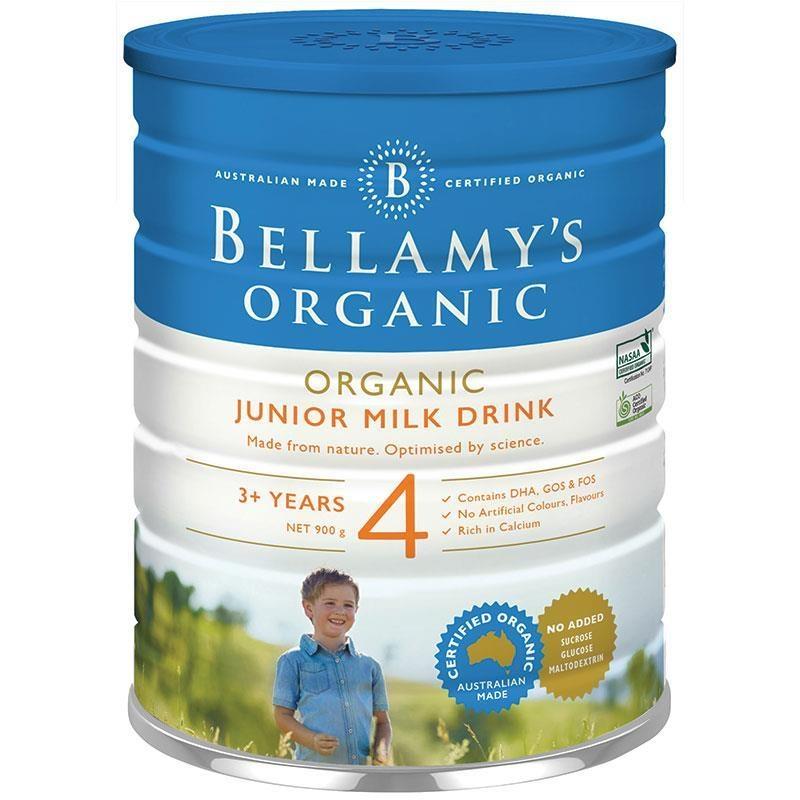 Sữa bột Bellamy's Organic Junior Milk Drink Step 4 900g