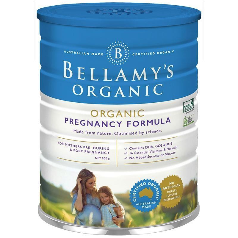 Sữa bột cho mẹ trước trong và sau khi mang thai - Bellamy's Organic Pregnancy Formula For Mum 900g