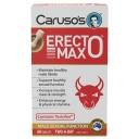 Viên uống hỗ trợ sức khỏe tình dục Carusos Natural Health Erecto MAX 60 Tablets