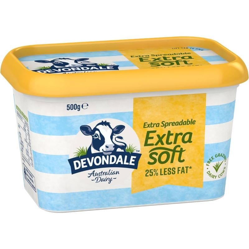 Bơ trộn siêu mềm - Devondale Extra Soft Butter Blend 500g