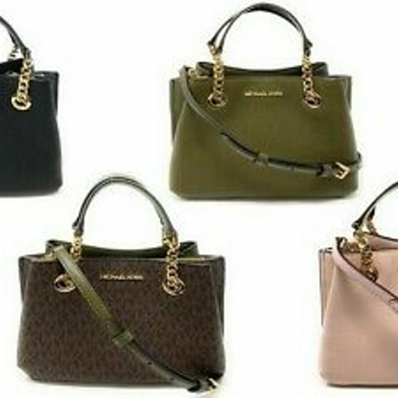 Túi xách - Michael kors Teagen Small Messenger Leather Handbag Crossbody Satchel
