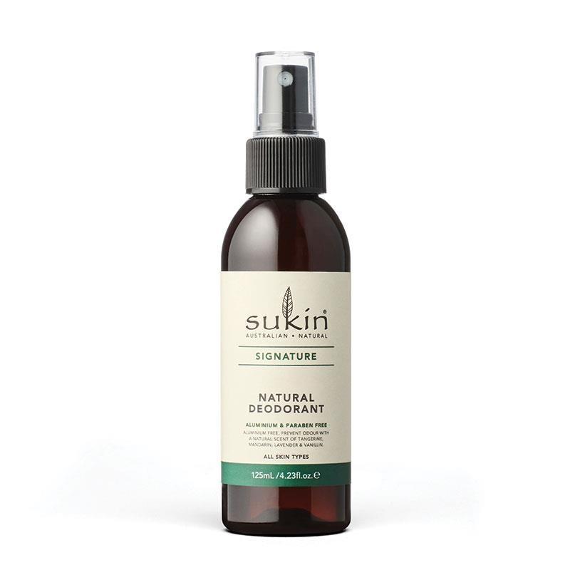 Xịt khử mùi tự nhiên Sukin Natural Deodorant 125mL