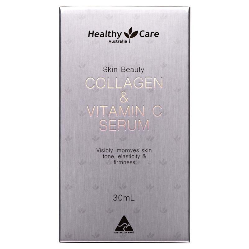 Tinh chất dưỡng da với collagen và vitamin C Healthy Care Collagen + Vitamin C Serum 30ml