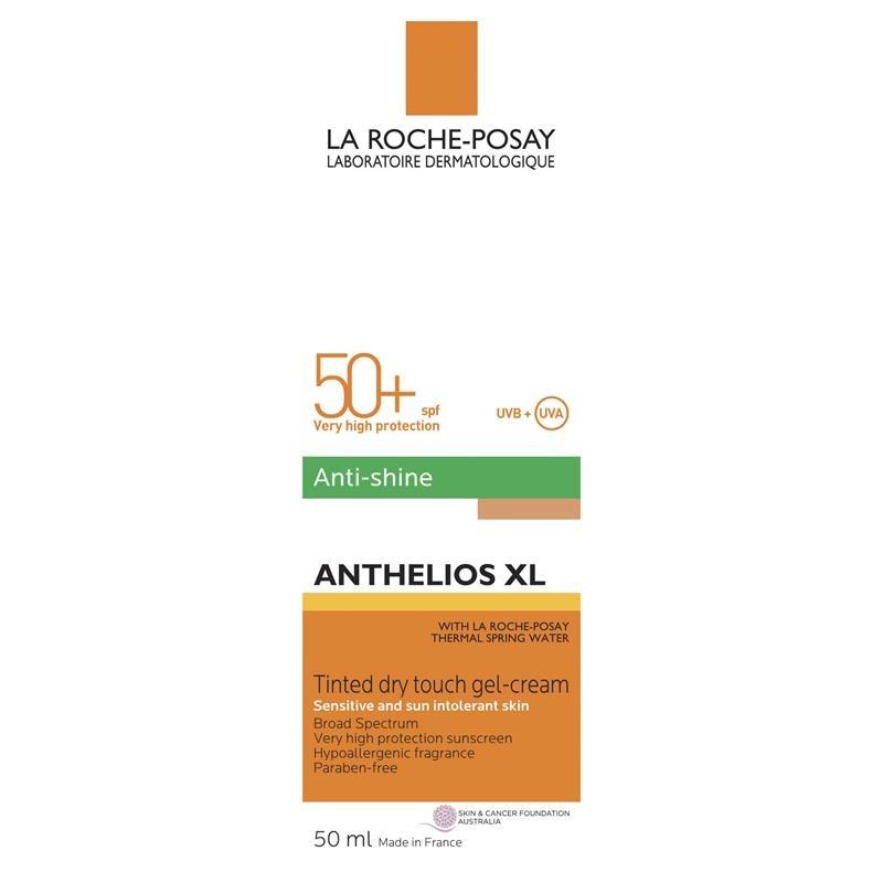 Kem chống nắng dành cho da dầu - La Roche-Posay Anthelios XL Dry Touch Tinted Facial Sunscreen SPF50+ 50ml