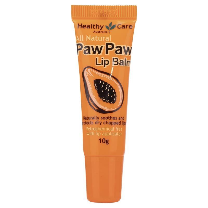 Dưỡng môi Healthy Care Paw Paw Lip Balm 10g