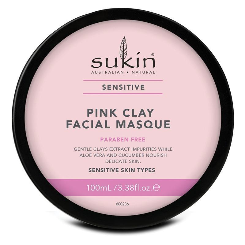 Mặt nạ đất sét hồng Sukin Pink Clay Facial Masque 100ml