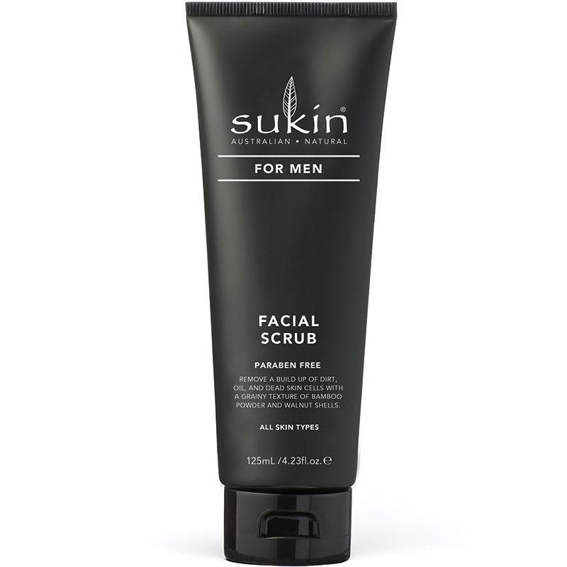 Kem tẩy da chết - Sukin For Men Facial Scrub 125ml