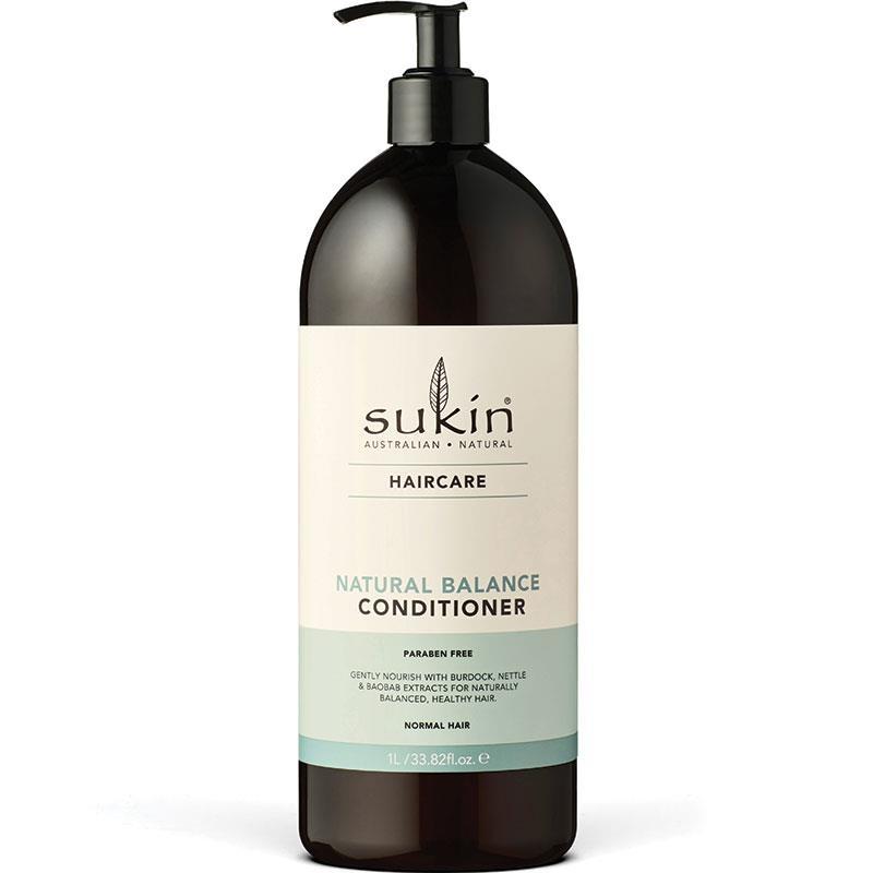 Dầu xả suôn mượt tóc tự nhiên Sukin Natural Balance Conditioner 1 Litre