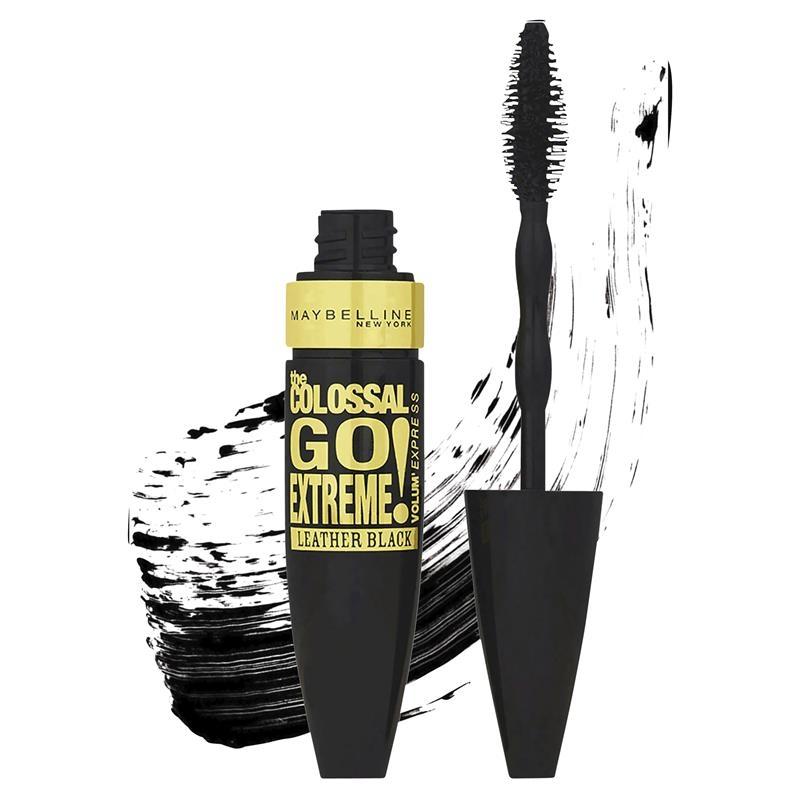 Mascara Maybelline Colossal Go Extreme Volumizing Mascara - Leather Black