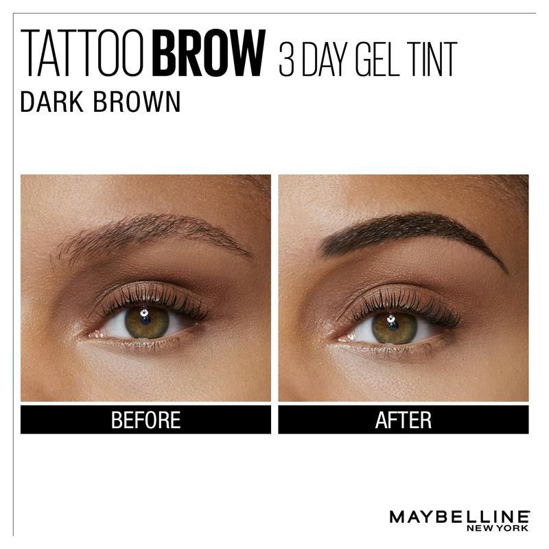Gel vẽ lông mày Maybelline Tattoo Brow Gel Tint Dark Brown