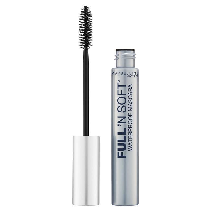 Mascara chống thấm nước Maybelline Full 'N Soft Volumizing Waterproof Mascara - Very Black