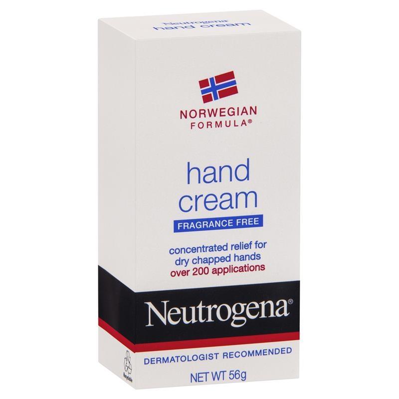 Kem dưỡng da tay Neutrogena Norweigen Formula Hand Cream Fragrance Free 56g