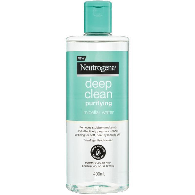 Nước tẩy trang Neutrogena Deep Clean Purifying Micellar Water 400ml