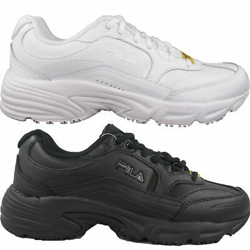 Giày chống trượt - Fila Women's Memory Workshift Slip Resistant Work Shoes