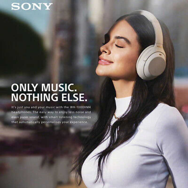 Tai nghe -  Sony WH-1000XM4 Wireless Noise Cancelling Headphones